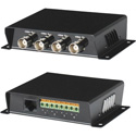 Speco UTP4P 4-Channel Passive Transceiver - Full Color Standard Analog Video Signal up to 984 Feet