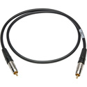 Sescom SPDIF3 Digital Audio Cable Canare SPDIF RCA Male to RCA Male Black - 3 Foot
