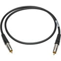 Sescom SPDIF6 Digital Audio Cable Canare SPDIF RCA Male to RCA Male Black - 6 Foot