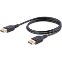 Startech DP14MM2M DisplayPort 1.4 VESA Certified Cable For 8k Resolution - 2 Meter/ 6 1/2 Feet