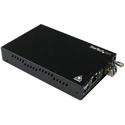 StarTech ET91000SM20 Gigabit Ethernet Copper-to-Fiber Media Converter - SM LC - 20km (12.4 Miles)