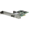 StarTech PEX1000SFP2 PCIe GbE Fiber Card w/ Open SFP - PCI Express SFP Adapter