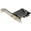 StarTech PEX433WAC11 AC600 Wireless-AC Network Card - PCIe / Dual Band 2.4GHz/5GHz