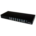 StarTech SV1631DUSBUK 16 Port 1U Rackmount USB KVM Switch Kit with OSD and Cables