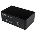 StarTech SV231DPDDUA 2 Port Dual DisplayPort USB KVM Switch with Audio & USB 2.0 Hub
