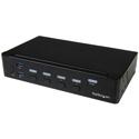 StarTech SV431HDU3A2 4-Port HDMI KVM Switch - USB 3.0 - 1080p