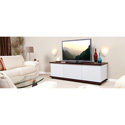 StudioTech U-22T-RW Wide Audio / Video Cabinet - Rosewood/White Fabric