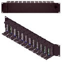 RDL STR-19A Stick-On Series 19in Racking System - 12 Modules