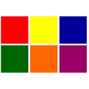 12 x 12 Rainbow Pack Color Effects Gels
