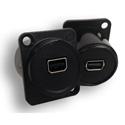 Switchcraft EHMDP2 EH Series Mini Displayport To Mini Displayport - Black Plastic Housing