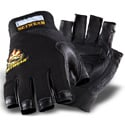SetWear SWF-05-010 Leather Fingerless Glove - Size L