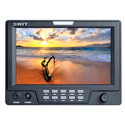 SWIT S-1071H 7 Inch 3G-SDI & HDMI LCD Monitor with S-7004F Battery Mount for Sony L Series