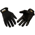 SetWear SWP-05-010 Pro Leather Gloves Black Large
