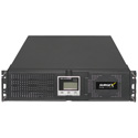 SurgeX UPS-3000-OL 3RU 3000 VA Online UPS 4 Outlet 30A On-line Double-Conversion UPS Technology