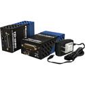 Fiberplex TD-1280-L5B Fully Compatible TIA-232/5 Pair RS232 Serial Interface - 2 Pair 1 Mbps - DTE - 1300nm - Singlemode