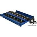 Fiberplex TDR-01-ACR 1.75 In (1RU) 6 Position Redundant Powered Rack for TD Series Modules Includes 2 x AC Power Adapter