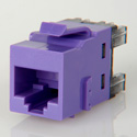 ADC-Commscope 1-2111475-0 T568A/T568B Category 6 RJ45 Jack Violet