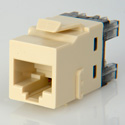 ADC-Commscope 1-2111475-1 T568A/T568B Category 6 RJ45 Jack Electrical Ivory