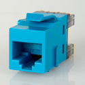 ADC-Commscope 2111475-6 T568A/T568B Category 6 RJ45 Jack Blue