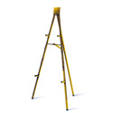 TestRite 9006A 6ft Aluminum Display Easel - Gold