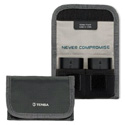 Tenba 636-213 Reload Battery 2 Battery Pouch for 2 DSLR Batteries - Gray