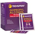 Techspray 1608-50PK Isopropyl Alcohol Cleaning Wipes 70 Percent - Box of 50 Single Wipes