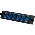 TechLogix ECO-P-S2-SC6S ECO Mounting Panel - 1 Slot - Single Mode OS2 - 6 Simplex SC