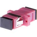 Techlogix M1-SC-F-SC-F Fiber Optic Coupler - Simplex Multimode Female SC to Female SC