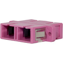 Techlogix M4D-ADPT-SCSC Fiber Optic Coupler - Duplex Multimode OM4 SC to SC