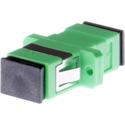 Techlogix S1-SCA-F-SCA-F Fiber Optic Coupler - Simplex Singlemode Female SC/APC to Female SC/APC