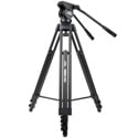 Davis & Sanford Provista 7518B Mid Level Spreader Tripod with V18 Fluid Head and W3 Dolly