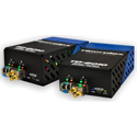 Fiberplex TKIT-MADI-M TD-6010 (Pair) MADI (AES10) to Multimode Optical Conversion 1310nm 2km Includes AC Power Adapter