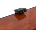 FSR TM-OT1CL-AC2CH-BLK On Table Mount for T6-LB-AC2CH Mount Pre-Wired