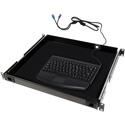 MCS TN-KBD-PS2 1RU Drawer w/ Mini PS2 Keyboard and Touch Pad