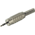 Connectronics Deluxe 3.5mm TRS Male with Strain Spring for 1/4in cable O.D.
