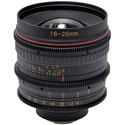Tokina KPC-1016MFT Cinema Vista 16-28mm II T3 Wide-Angle Zoom Camera Lens - MFT Mount Focus Scale in Feet