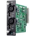 TOA D-922F Input Module - Two Mic/Line Inputs - Balanced - 20-Bit A/D - XLR-F Connectors