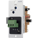 TOA U-12S Unbalanced Line Input Module Variable Mute Receive with Screw Terminals