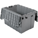 22in x 15in x 12.5in (12 gallon) Grey Tote