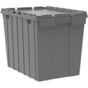 Grey Production Tote 22in x 15 in x 17in (17 gallon)