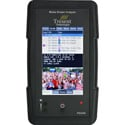 Tresent IPQ-1000 Handheld Video Over IP MPEG Transport Stream Analyzer with Internal Hard Drive & Case