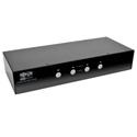 Tripp Lite B004-DPUA4-K 4-Port DisplayPort KVM Switch with Audio Cables and USB 3.0 SuperSpeed Hub