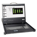 Tripp Lite B021-000-19 Rackmount KVM Console with 19 Inch LCD