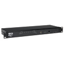 Tripp Lite B022-U08-IP 8-Port Rackmount IP KVM Switch w/ On-Screen Display Steel 1URM