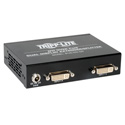 Tripp Lite B140-002-DD 2-Port Dual Display DVI over Cat5/Cat6 Extender Splitter Video Transmitter - 60Hz Up to 200 Ft