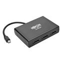 Tripp Lite B155-003-DP-V2 3-Port Mini DisplayPort 1.2 to DisplayPort Multi-Stream Transport (MST) Hub (4K x 2K) UHD