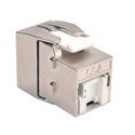 Tripp Lite BHDBT-001-KJ-GY Toolless Cat6a Keystone Jack - Gray