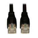 Tripp Lite N261-003-BK Augmented Cat6 (Cat6a) Snagless 10G Certified Patch Cable (RJ45 M/M) - Black 3 Feet