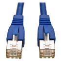 Tripp Lite N262-010-BL Augmented Cat6 (Cat6a) Shielded Snagless 10G Certified Patch Cable (RJ45 M/M) - Blue 10-Feet