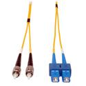 Tripp Lite N354-01M Duplex Singlemode 8.3/125 Fiber Patch Cable (SC/ST) 3 Feet